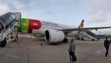 Estreia no A320NEO da TAP AIR PORTUGAL