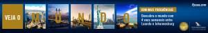 FLYSAA - Veja o Mundo, descubra o mundo com 4 voos semanais entre luanda e Johannesburgo