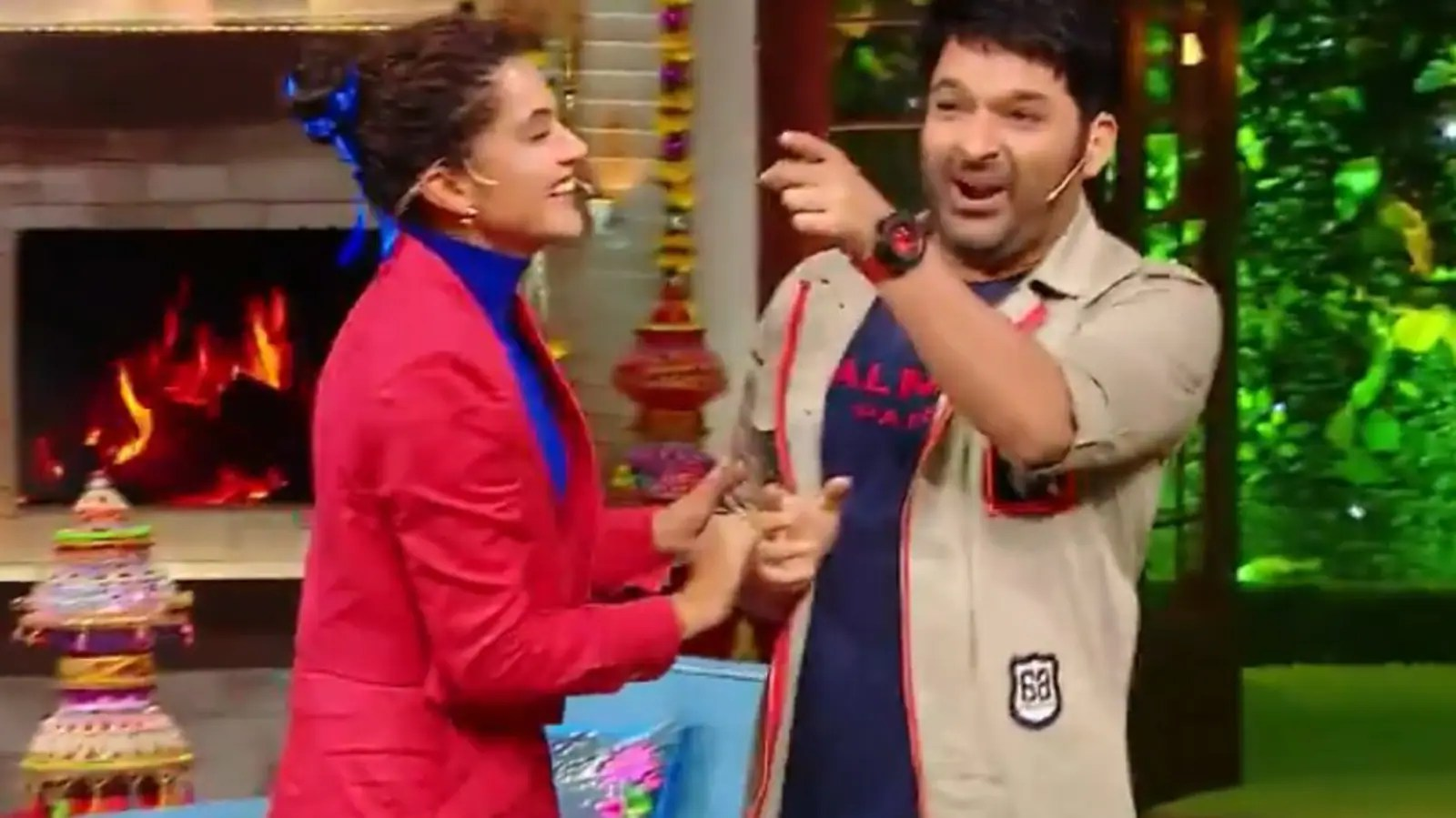 The Kapil Sharma Show: Taapsee Pannu reacts as host teases her for 'removing' Akshay Kumar from movies