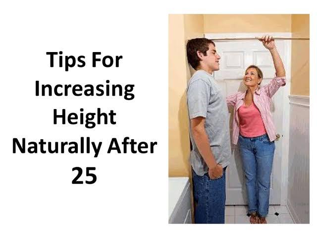 18 saal or 25 saal ke baad height badhane ke tips hindi me