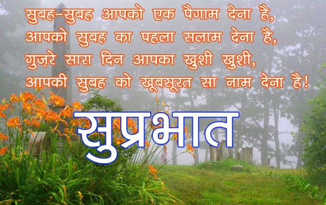 Good Morning sms for Friends in hindi images 9