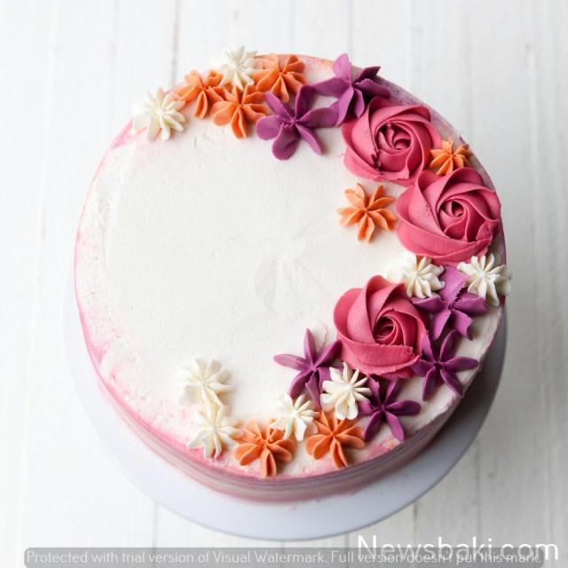Howtomakeabuttercreamflowercake