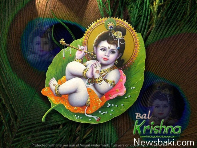 cute baby krishna images download 1