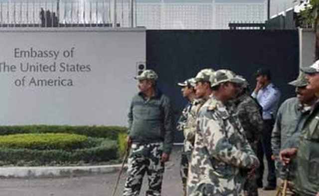 किसानों द्वारा हिंसा के बाद दिल्ली में दूतावास के अधिकारियों के लिए अमेरिकी सलाहकार