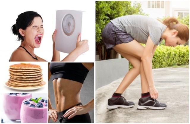 वजन घटाने युक्तियाँ पूरी तरह से नजरअंदाज करने के लिए