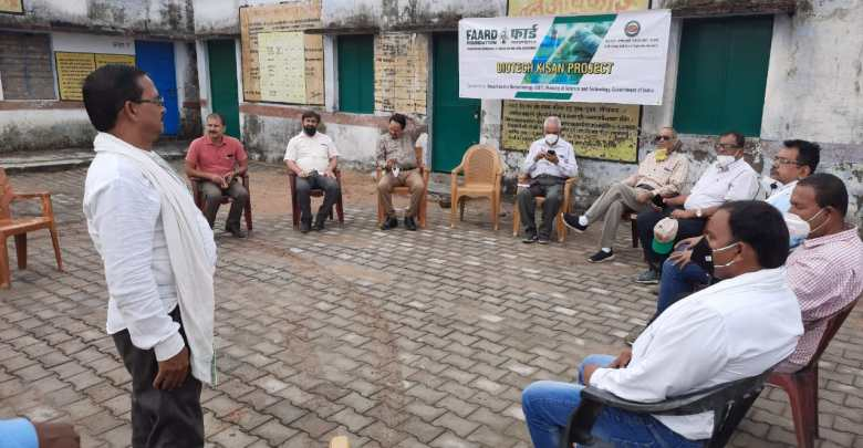 FAARD team visits Sonbhadra villages