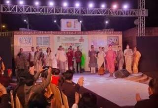 Tribal fashion highlighted at the Tribes India Aadi Mahotsav