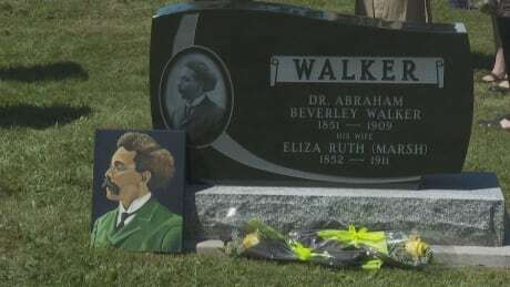 Grave of first Canadian-born Black lawyer finally gets headstone in Saint John(CBCNEWS)