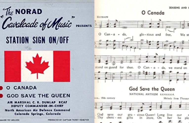 CROWN: Did you know Canada has 2 official anthems?  JW COMMENT: KNOW NOW