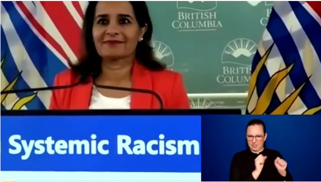 Fighting systemic racism, improving government services morning news speech today by BC GOVERNMENT  King Jin comment: thank , acknowledge and respect the First nation generous to allowing us to live on their land/traditional territories. This is a great step toward racial issues solution via legislation