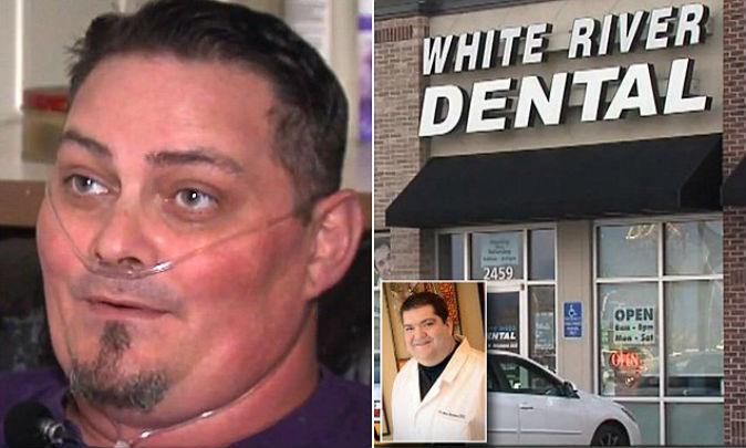 Man wakes up after five-hour dentist visit to find all his teeth removed