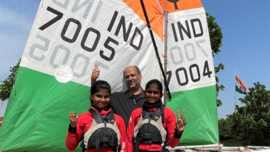 Two girl sailors from Hyderabad selected for the World Championships to be held from July 2 in Italy