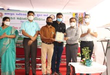 Pradipbhai Shirsath was honoured with a letter of commendation