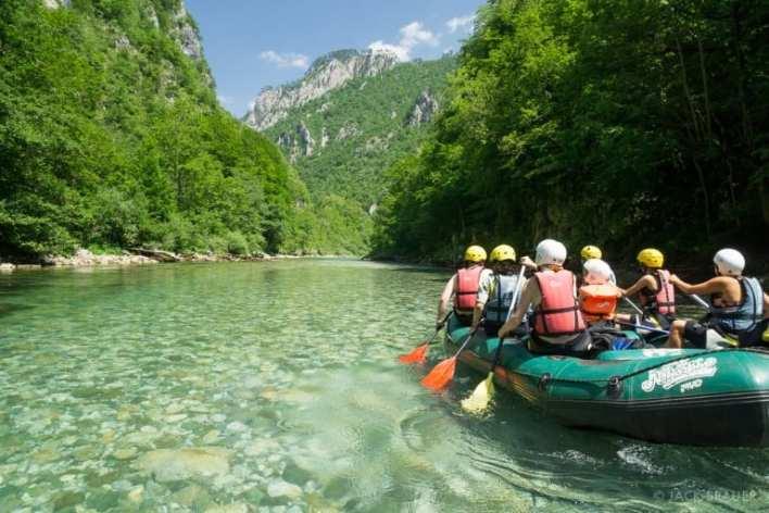 Rafting Tara Splavarenje Crna Gora Head