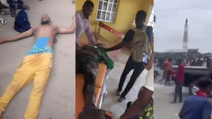 Osun CP confirms death of two during 'hijacked' #EndSARS protest in Osogbo, condemns attack on Oyetola