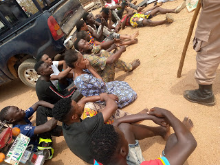 Amotekun arrests suspected cultists for attacking residents in Osogbo