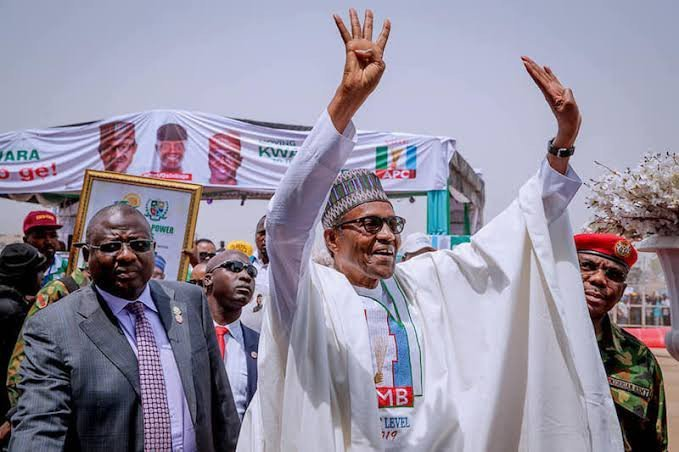Image result for INEC declares Muhammadu Buhari as winner of 2019 Presidential election