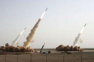 Iran Three Missile Test