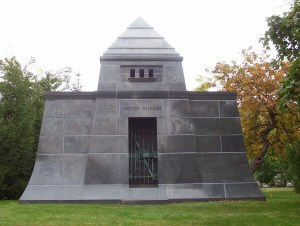 Graceland Park Martin Ryerson mausoleum