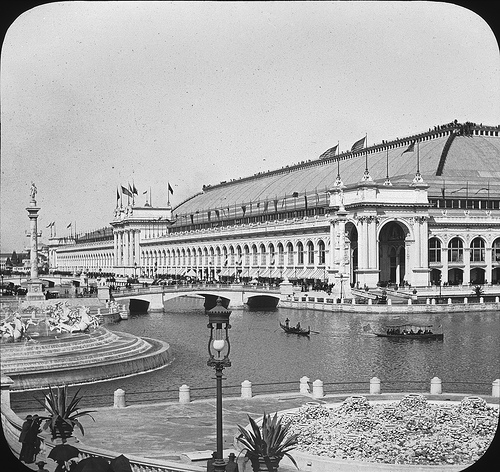 Chicago World's Columbian Exposition in 1893 Liberal Arts Building