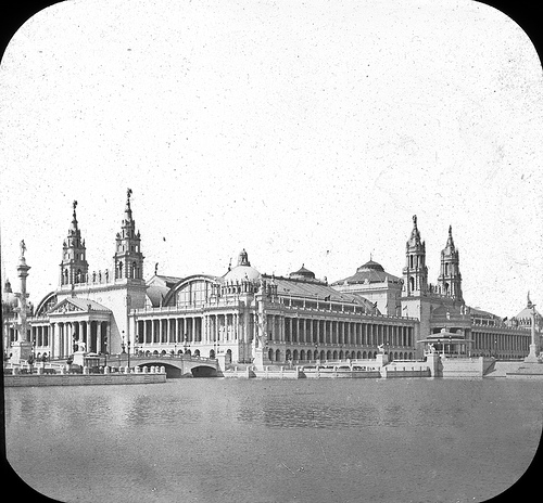 Chicago World's Columbian Exposition in 1893 Machinery Hall
