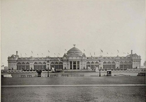 Chicago World's Columbian Exposition in 1893 Agriculture Building