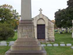 Carter Harrison Grave marker