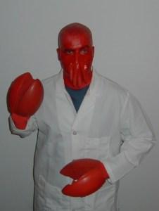 Halloween costume zoidberg