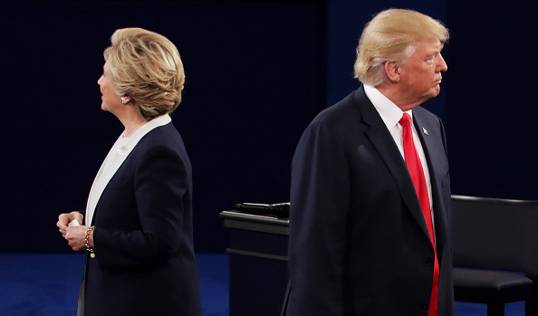 Clinton and Trump duke it out in ugliest and nastiest presidential debate in history