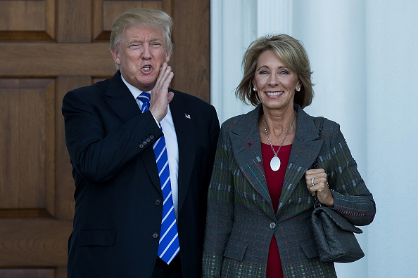 Trump adds two women to his cabinet DeVos and Haley