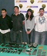 Laura Zuniga Detained in Guadalajara Guns n Money