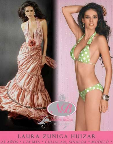 Laura Zuniga Bikini Evening Gown Model Photoshoot Nuestra Belleza Mexico Did I Mention HOT?