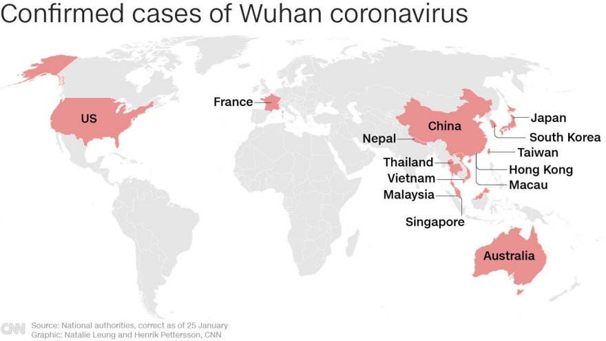 Fifth US case of coronavirus confirmed as China warns people can ...