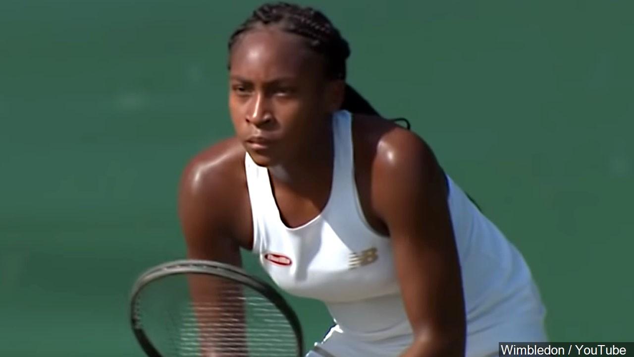 Coco Gauff just 15yearsold shocks 5time champ Venus