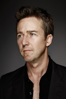 Edward Norton, by Daniel Bergeron. Indiewire. 2014., No Release on file