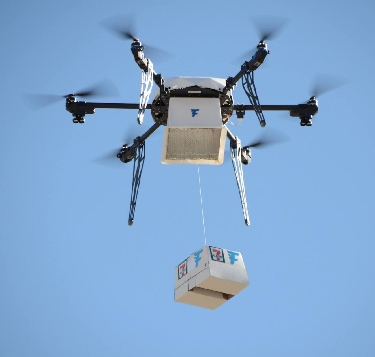 7-Eleven and Flirtey First Store-to-Customer Drone Delivery