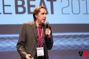 Arte Merritt Presenting at MobileBeat 2016 | Credit: VentureBeat