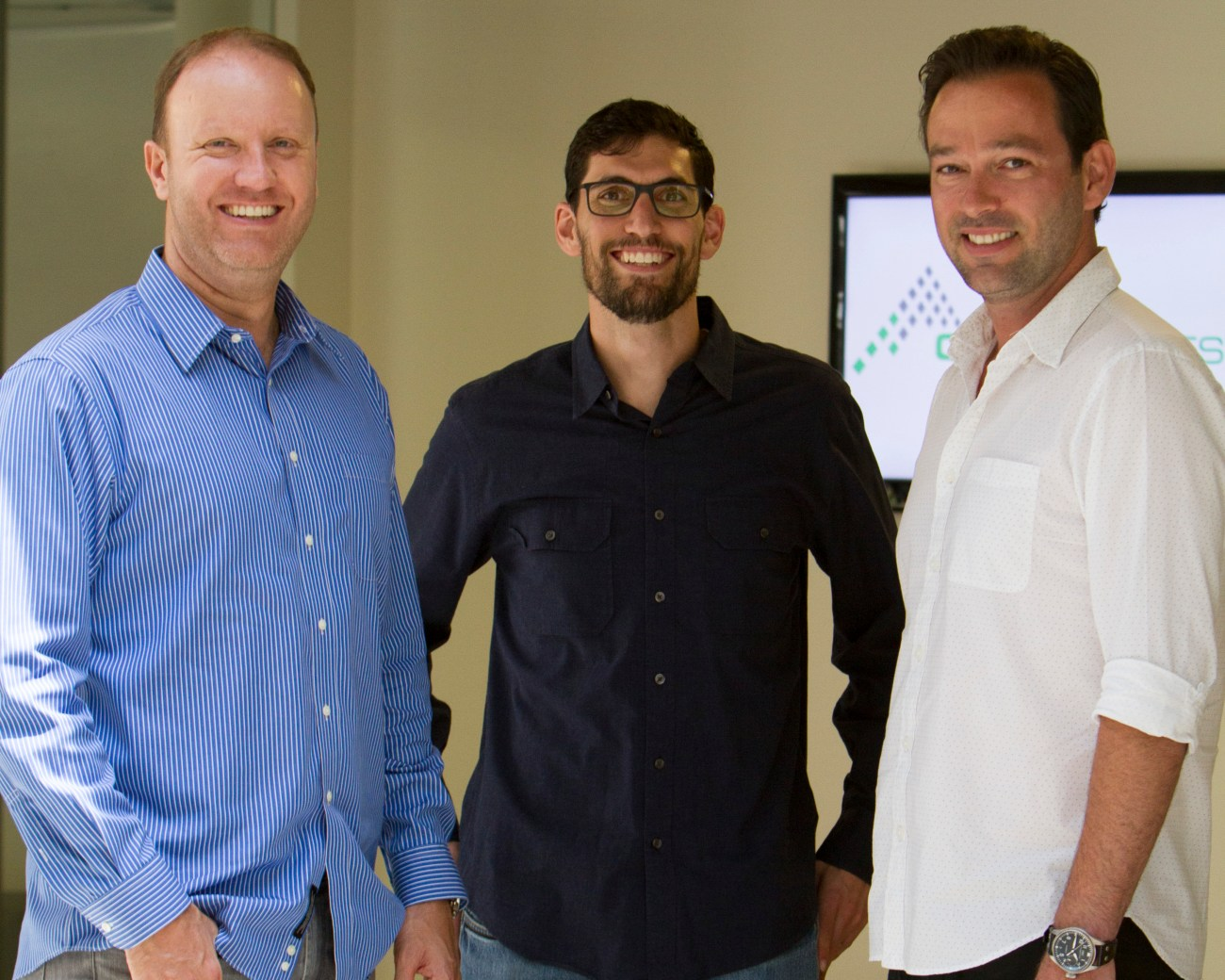 Crowd Invest Summit founders: Darren Marble, Alon Goren and Josef Holm