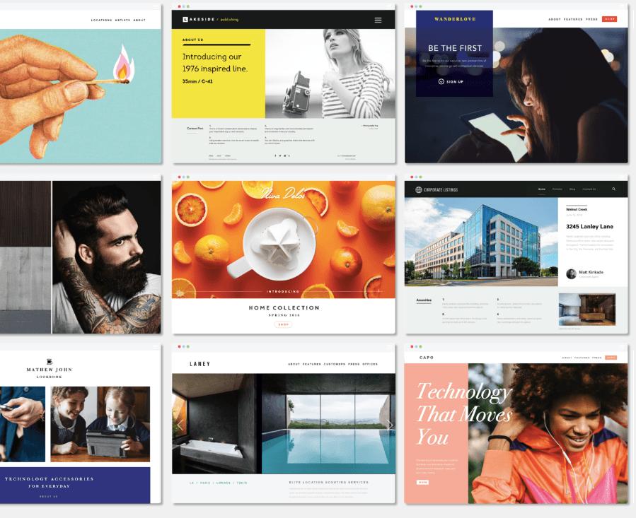 Brandcast-designed Websites