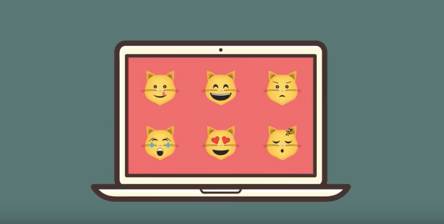 Hello Hooman is a humorous app that transforms smileys into cat emojis.
