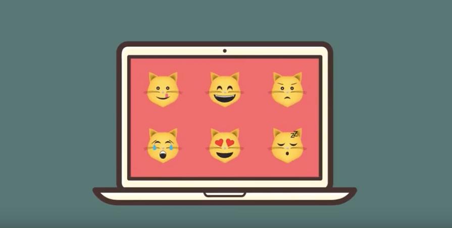 Hello Hooman is a humorous app that transforms smileys into cat emojis.