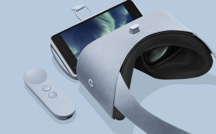 Google announced new versions of its Daydream View virtual reality headsets.