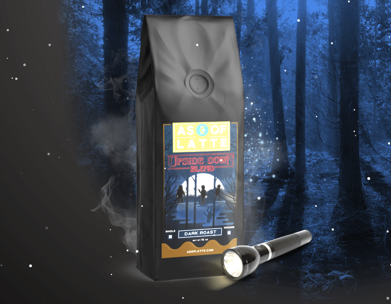 New Product Alert: Upside Down Blend – Dark Roast Coffee