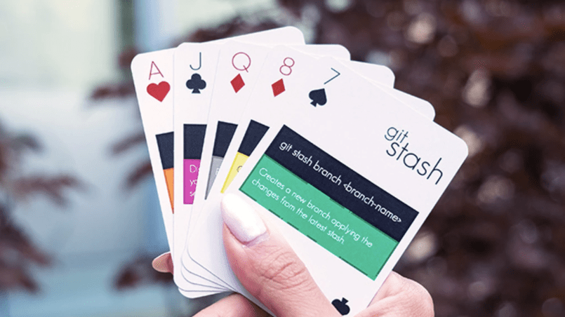 git:deck playing cards allow users to learn git commands while playing