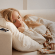 "The Pzizz app is a ""sleep and power nap system"" that uses rotating, specially designed music, voiceovers, and sound effects to help users sleep better and wake up refreshed."