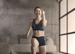 users can let the Moov Studio app's trainers expertly guide them through each workout, encourage their progress, and celebrate their achievements.
