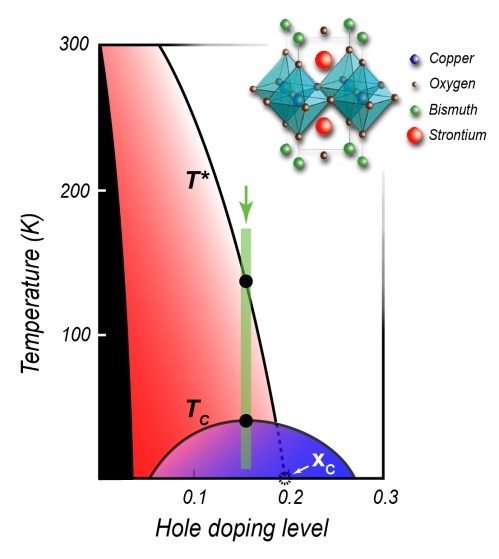 small resolution of in this phase diagram common to many cuprate superconductors the insulating phase typical of undoped