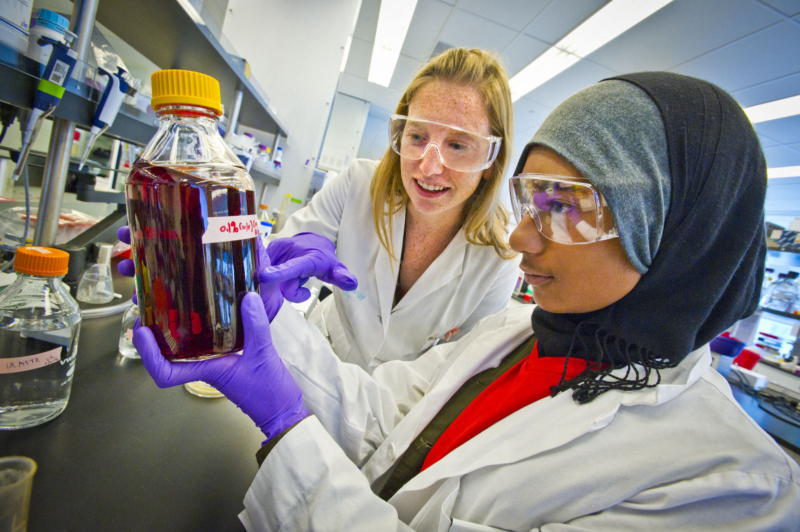 Science Labs For High School Students
