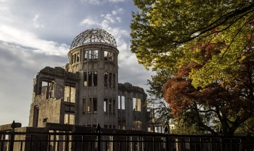 Photo - A view of the Atomic Bomb Dome in Hiroshima that survived a near-direct hit from the A-bomb blast in 1945 and still stands today. (Credit: Max Pixel)