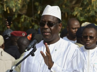 Macky Sall - Re-elected President of Senegal